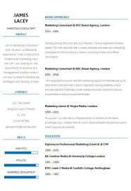 Templates For Resume Free Classy 48 CV Templates Free To Download In Microsoft Word Format