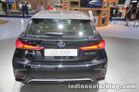 2018 lexus ct200h. unique ct200h 2018 lexus ct 200h rear at iaa 2017 inside lexus ct200h