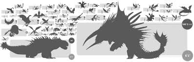image dragons size comparison png how to train your dragon wiki