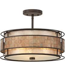 quoizel mc842src laa renaissance copper semi flush mount