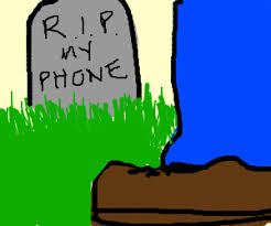 Image result for dead phone clip art
