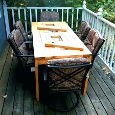 outdoor table glass replacement