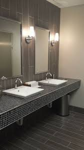 Best Industrial Bathrooms Images On Pinterest - Restroom or bathroom
