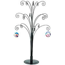 Wrought Iron Ornament Display Stand Delectable Wrought Iron Ornament Tree Large Wrought Iron Ornament Tree