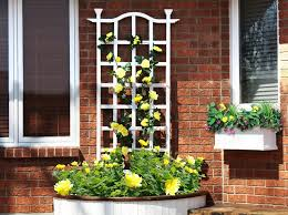 Small Picture Metal Wall Trellis Outdoor Decorations