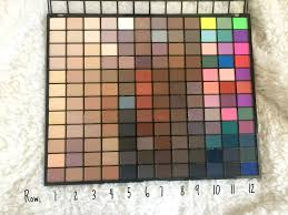 makeup revolution 144 eyeshadow palette review 2016 right that i did another 144 swatches to show off the colours in this one since