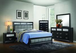 Macer Bedroom Dresser, Mirror, and Queen Bed