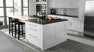 White Cabinets Grey Walls Grey Black And White Kitchen Kitchen And Decor