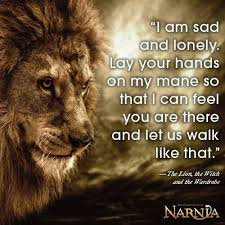 Narnia Quotes Classy Quotes About Lion The Witch And The Wardrobe 48 Quotes