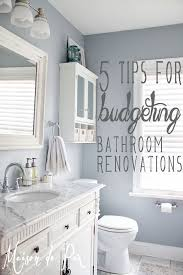 some tips for creating a gorgeous bathroom within any budget plus a source list for this stunning renovation