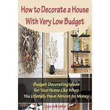 low budget budget decorating ideas