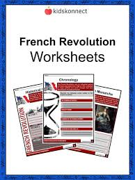 Compare American And French Revolution Venn Diagram French Revolution Facts Information Worksheets Lesson Plans