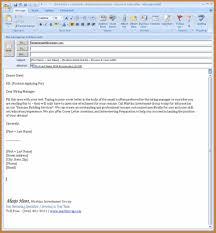 Email Resume Tips Sampleresumesandcv Com