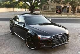 Audi A4 2013 Audi A4 Audi Black Audi