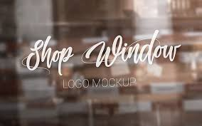 Download free mockups in psd. 30 Premium And Free Glass Window Logo Psd Mockups Counrty4k