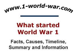 and or what caused world war essay who and or what caused world war 1 essay