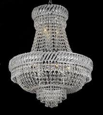 9lt 26x23 french empire crystal chandelier lighting fixture pendant ceiling lamp 1795098443