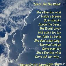 Shes Like The Wind Sh Quotes Writings By Donna Smith