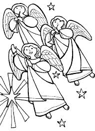 Engelen Vleugels Kleurplaat Ausmalbild Engel Der Ein Kreuz Hlt