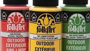 Folk Art Paint Chart Outdoor Brand Diy Craft Supplies Plaid Online