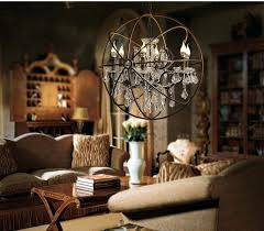 orb chandelier with crystals foucults crystl chndelier crystal within plan 18