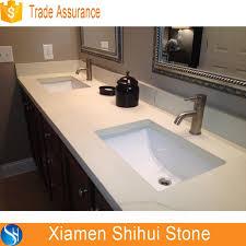 prefab bathroom countertops