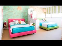 double beds for girls. Simple For Cute Twin Bedroom Design With Double Bed For Girls Room  Ideas  YouTube Intended Beds For T
