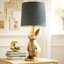 the emily meritt bunny table lamp