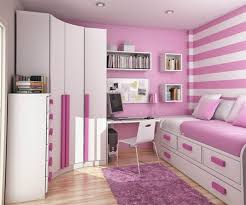 Pink And White Wallpaper For A Bedroom Bedroom Stripe White And Pink Wallpaper Decor For Teenage Girls