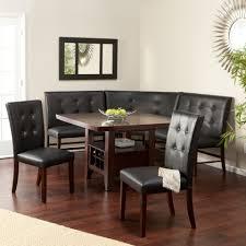 Bench Style Kitchen Tables Kitchen Best Corner Nook Kitchen Table Set Home Interiors Ideas