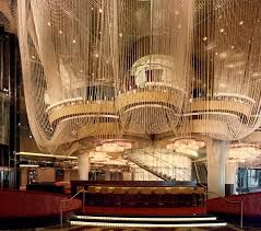 the chandelier bar at the cosmopolitan