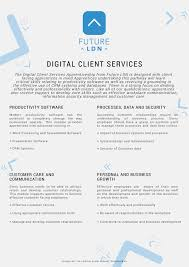 future ldn apprentice james powell future ldn fldn digital client services