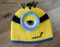 Free Crochet Minion Hat Pattern