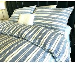 ticking duvet ticking stripe bedding ticking stripe bedding nautical stripe navy duvet cover with striped pillow