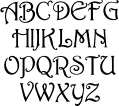 design letter fun free alphabet stencil cool lettering designs free art deco
