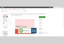 Microsoft Word Templates Gift Certificates Free Valentines Day Templates For Ms Office