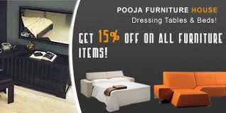 furniture sale banner. Pooja Furniture House Offers India Sale Banner