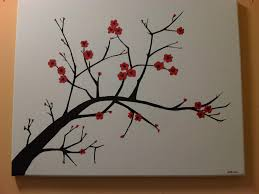 Simple Painting 7 Steps To Create A Cherry Blossom Painting Simple Canvas