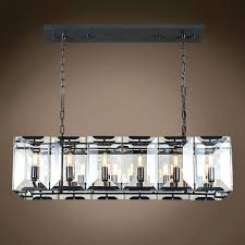 rectangular glass pendant lighting rectangular glass chandelier harlow crystal rectangular 12 light 40 chandelier rhys smoke glass prism rectangular