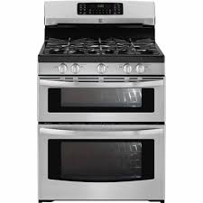 double oven with stove top. Delighful Top DoubleOven Gas Range  Stainless Steel For Double Oven With Stove Top I