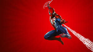 marvels spider man ps4 theme art 10k