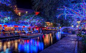 christmas lights desktop wallpaper. Christmas Scenery Hd Desktop Wallpaper White Lights Background On