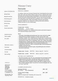 Bartender Resume Skills Cool Resumes For Bartending Resume Skills Creero Resume Objective For