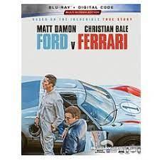 Ford V Ferrari 2019 Blu Ray Digital Copy Us Import Ohne Dt Ton Blu Ray Film Details