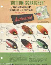 Bottom Scratcher Lure Color Chart Fin Flame Fishing For