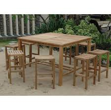 interesting high top patio table and chairs and patio high top patio table set outdoor high