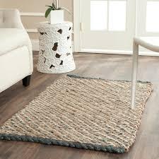 safavieh natural fiber natural blue jute area rugs