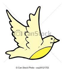 ic cartoon flying bird csp24121703