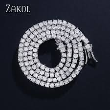 2019 <b>ZAKOL New</b> Trendy 3mm 4mm Round Cut Cubic Zirconia ...