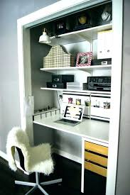 small closet office ideas. Closet Desk Ideas Amazing 10 To Brings Office Into Your Closets Small House Decor With Regard 19